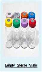 Empty Sterile Vials